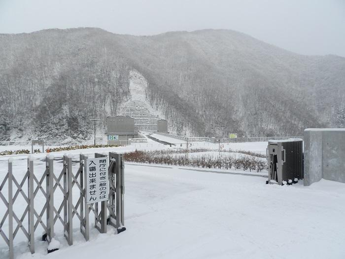 湯西川ダム冬期閉鎖09
