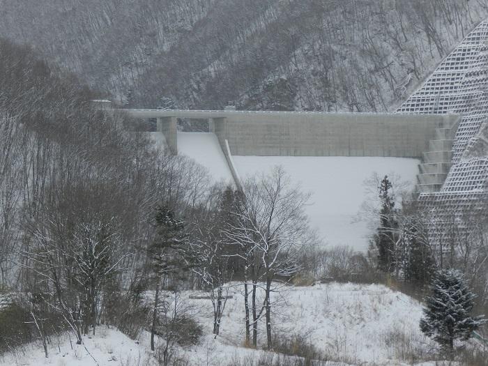 湯西川ダム冬期閉鎖07