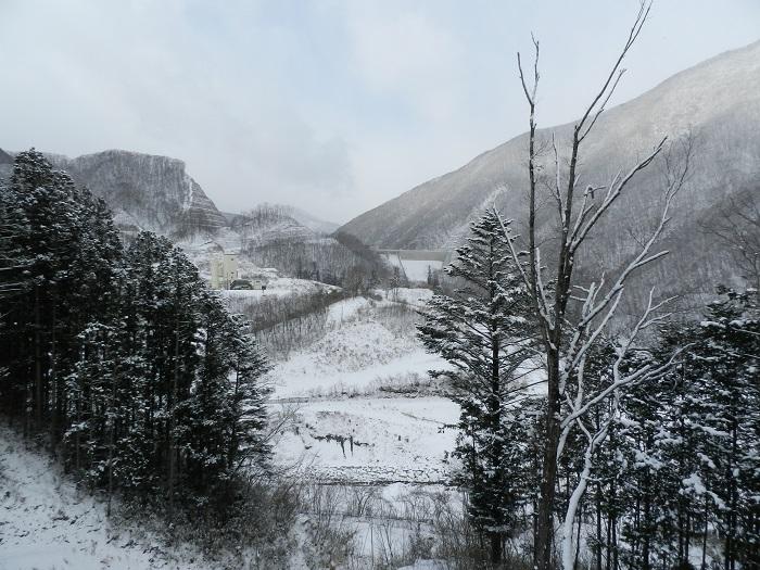 湯西川ダム冬期閉鎖06