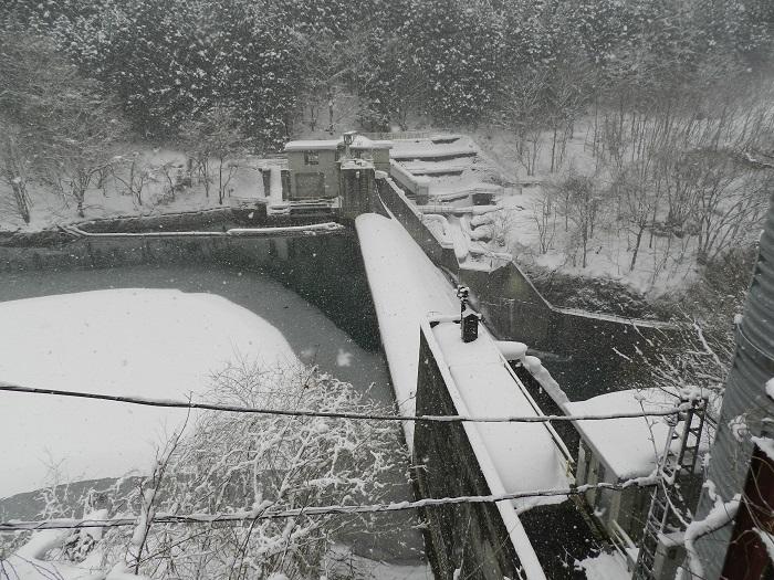 冬期閉鎖奈良俣17