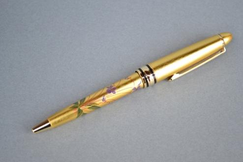 本金箔蒔絵ボールペン(すみれ)