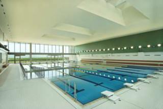 絶景のなか泳ぐのは気持ちがいいです。tagata