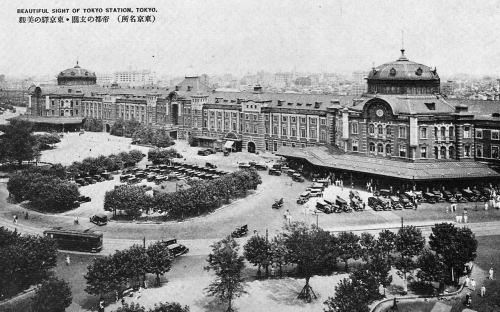 竣工当時の東京駅