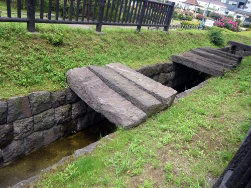 神田上水 石樋の跡
