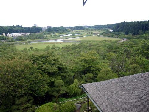 好文亭3階からのの眺望