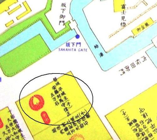 2江戸城坂下門絵図