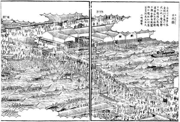 江戸名所図会の日本橋