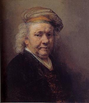 レンブラント・ファン・レイン 「自画像」1669年