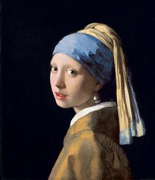 ヨハネス・フェルメール「真珠の耳飾りの少女」1665年頃
