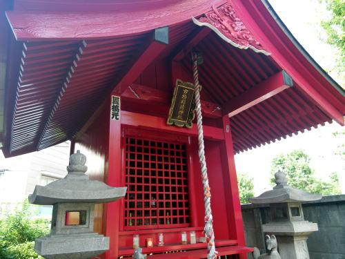 淀橋市場の市場稲荷神社