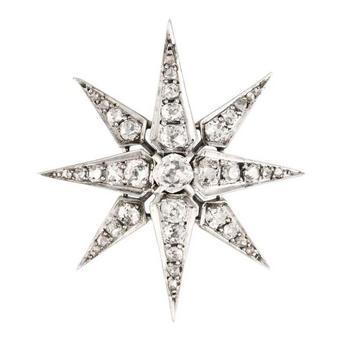 星の髪飾り「シシィの星」
