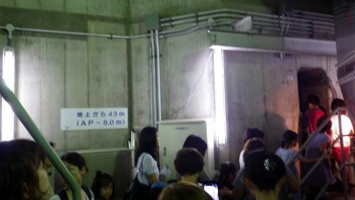 善福寺川取水施設 地下入口