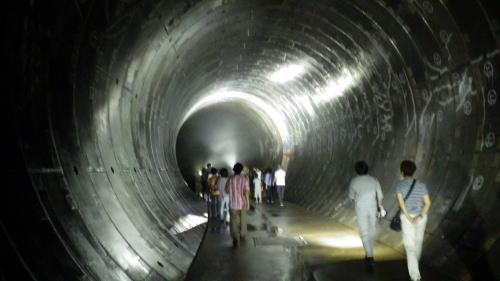 善福寺川取水施設地下トンネル 1
