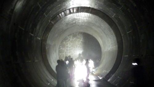 善福寺川取水施設 トンネル 次のトンネルへ通じている
