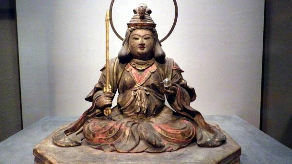 東京博物館の弁財天像