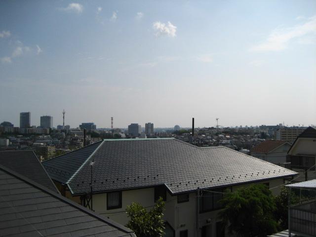 屋根の上 014