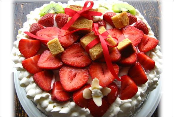 ケーキだよん