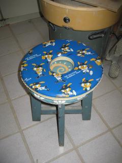 ドーナッツ椅子