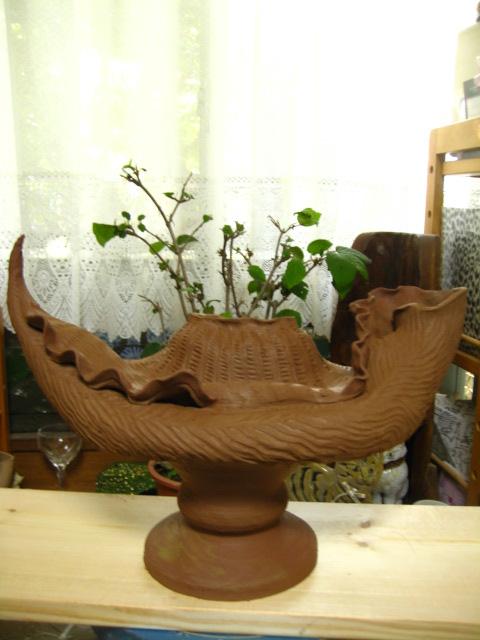 貝の花器 006