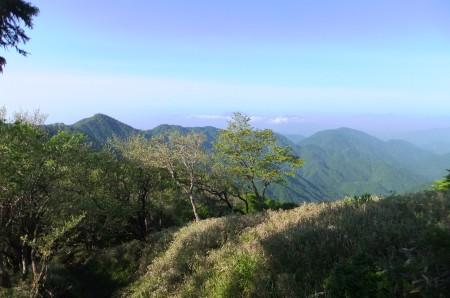 塔ノ岳から鍋割山