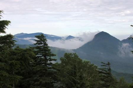 志賀山から南方