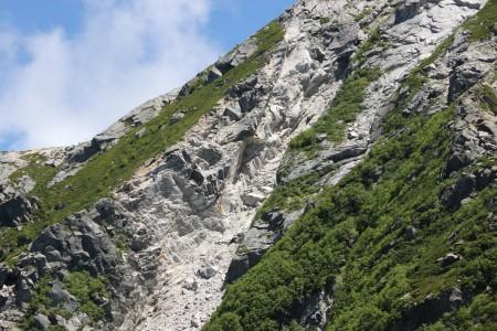 花崗岩の酸化