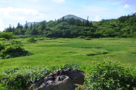 火打山と高谷池
