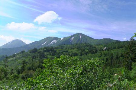火打山と高谷池ヒュッテ