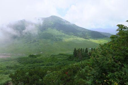 妙高外輪山と黒沢池
