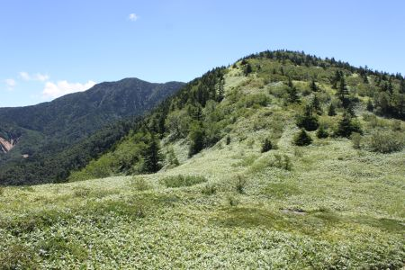 根子岳と四阿山