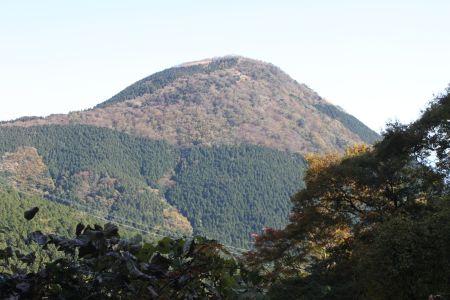 万葉公園から矢倉岳