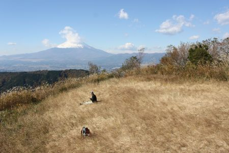 矢倉岳山頂