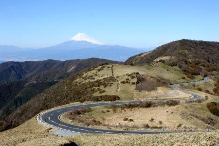 富士山と小達磨