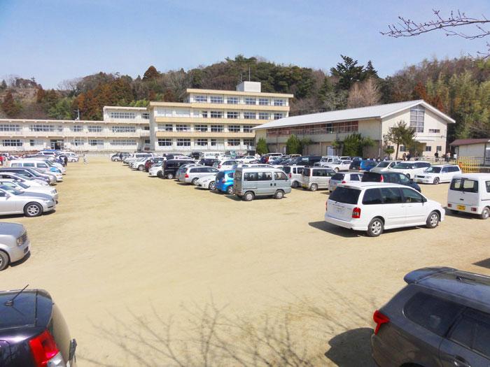 110314_11時24分撮影_避難所_いわき市立平第六小学校2