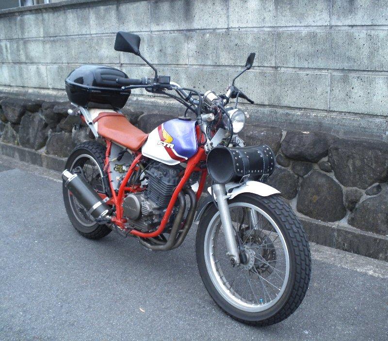 ハイスペックな旅バイクを目指し中