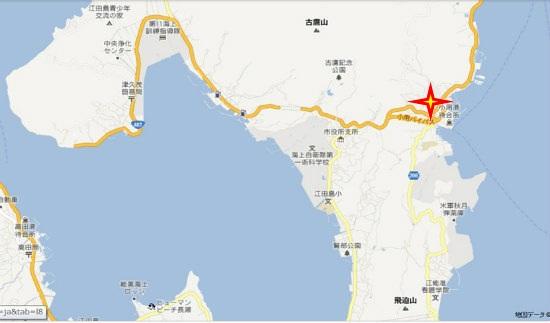グーグル地図(津久茂・小用)小用荒神社