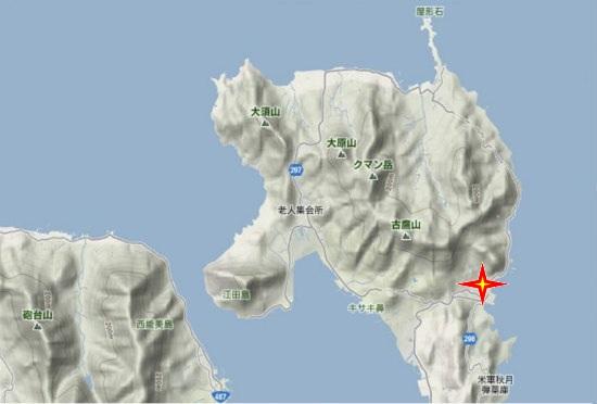 1)江田島町北部・小用官舎