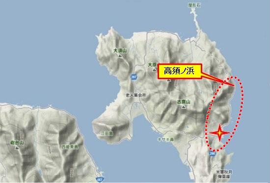 1)江田島町北部・小用・高須ノ浜