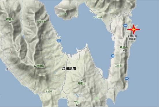 2)江田島町南部・秋月弾薬庫