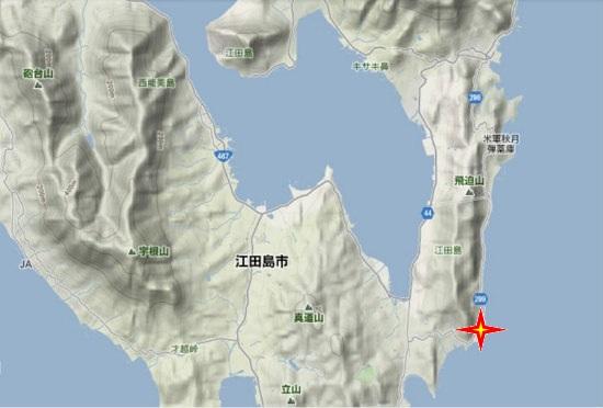 2)江田島町南部・古澤鋼材
