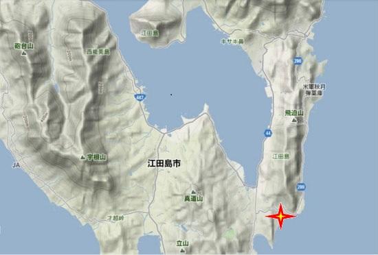 2)江田島町南部・クッション艇基地