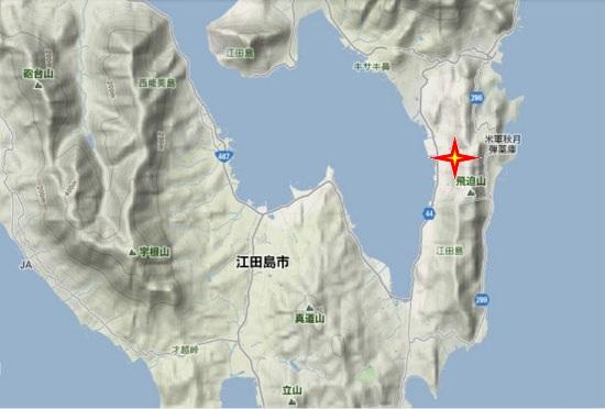 2)江田島町南部・鷲部荒神社