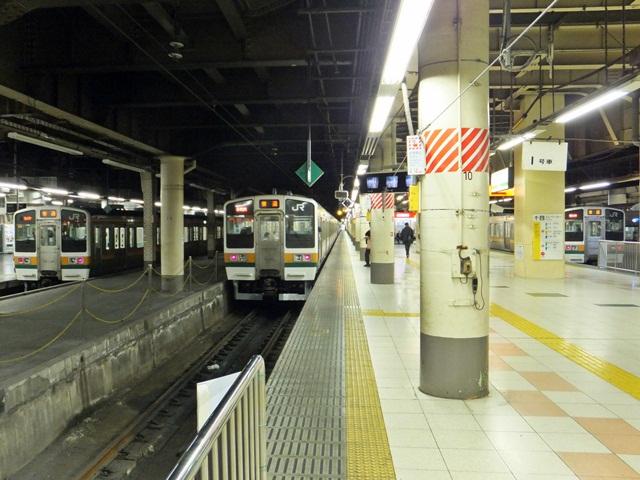 今年3月の上野駅