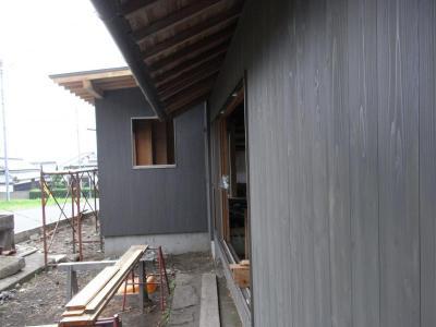 外壁1回塗り