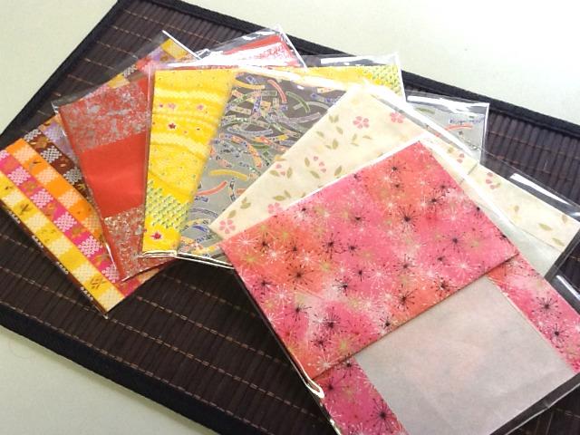 友禅和紙 ブックカバー 和紙クラフト 手作りの小物 和小物 和雑貨 和風アクセサリー 和紙小物 和紙雑貨 オリジナル 福岡 suicocco.