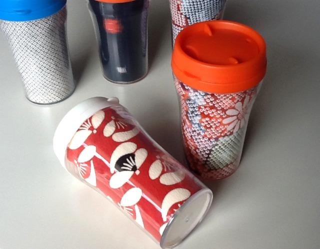 エコ 省エネ マイボトル マイ・タンブラー 携帯マグ 携帯ボトル 和柄ボトル 和柄タンブラー 古布 正絹 ちりめん 大島紬 友禅和紙 和雑貨 和小物 和