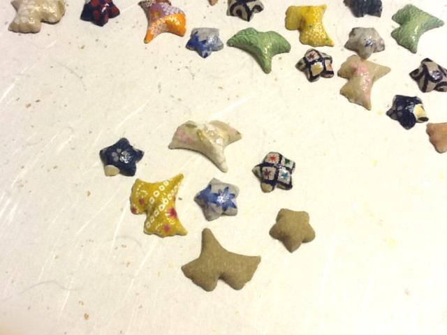飾りおはじき アロマストーン  アロマ 和小物 和風インテリア小物  置物 アロマディフューザー 和紙おはじき 和風小物
