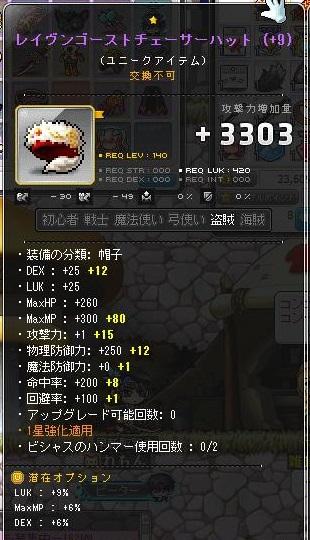 140帽子、310.540