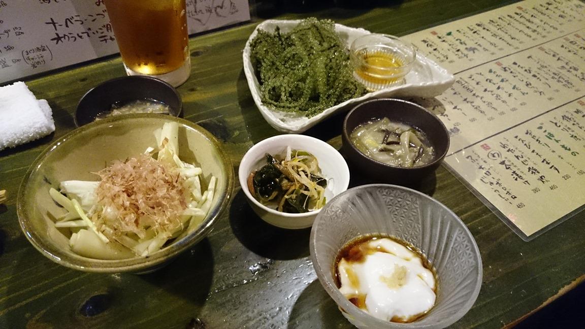 1、『わたんじ』での沖縄料理(2014年5月25日)30おk