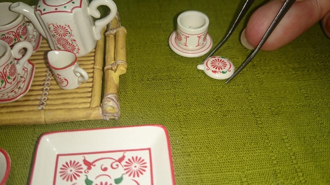 1-4、1165(コーヒーフィルターをセットする2)魅惑のバッチャン焼き30ok